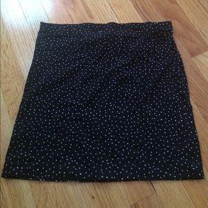 Black and White Polka dot Skirt !